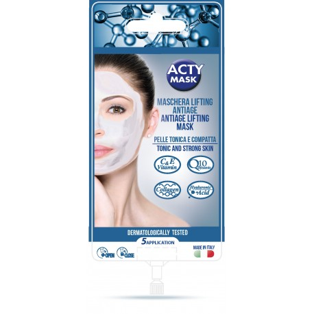 Masque Lifting Anti-age Technologie 4D, 5 applications