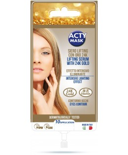 Serum Lifting Illuminant Technologie 4D à l'or 24K - 10 applications