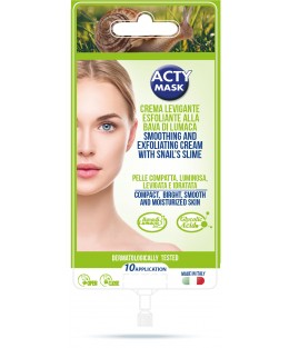 CREME EXFOLIANTE LISSANTE A LA BAVE D'ESCARGOT - 10 applications